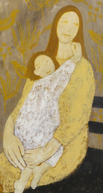 , 'Girl with a Child,' 2019, Thompson's Galleries