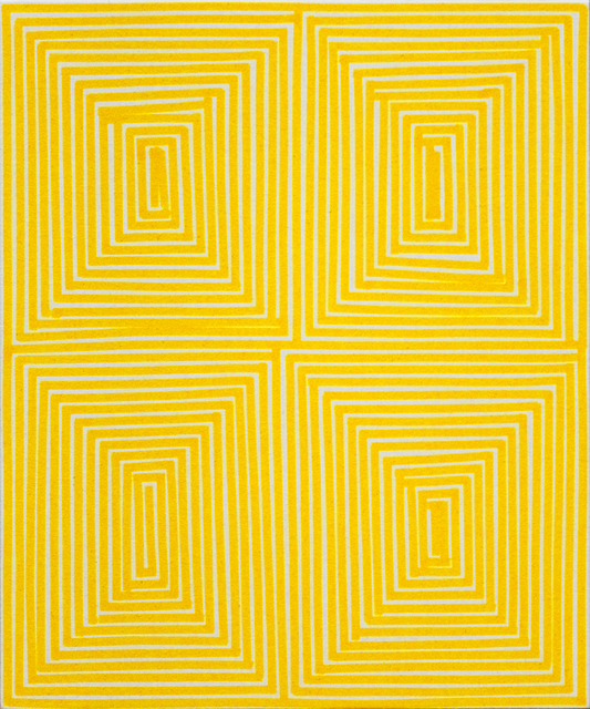 , 'Yellow Coffer (Geo),' 2014, Newzones