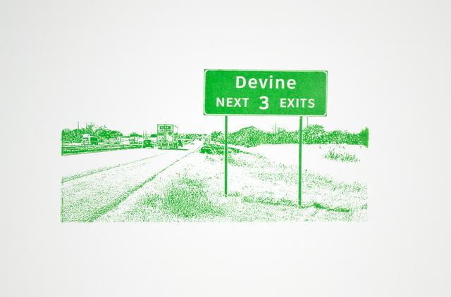 , 'Devine,' 2014, Ruiz-Healy Art