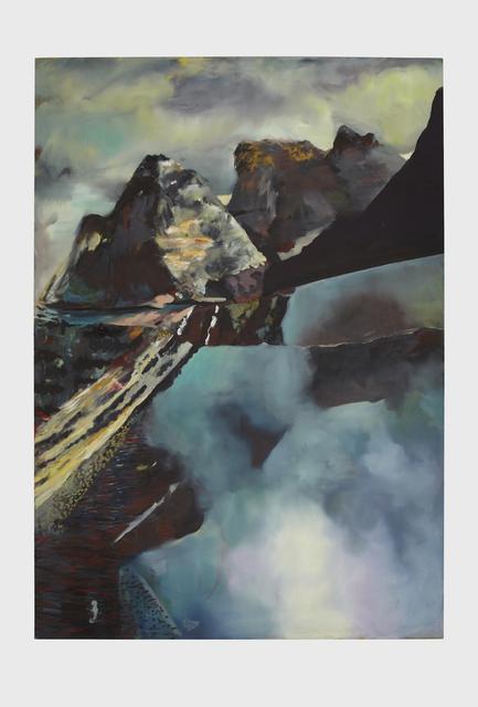 , 'Blue Slip,' 2014, Klowden Mann
