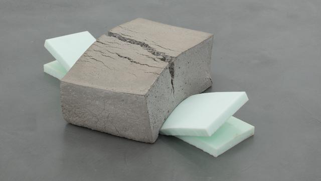 , 'Beton (gestoßen),' 2016, Galerie Jocelyn Wolff