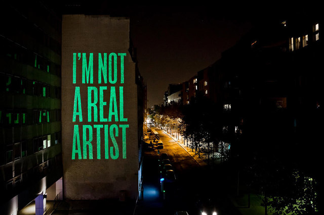 , 'I'm Not A Real Artist,' , sc gallery