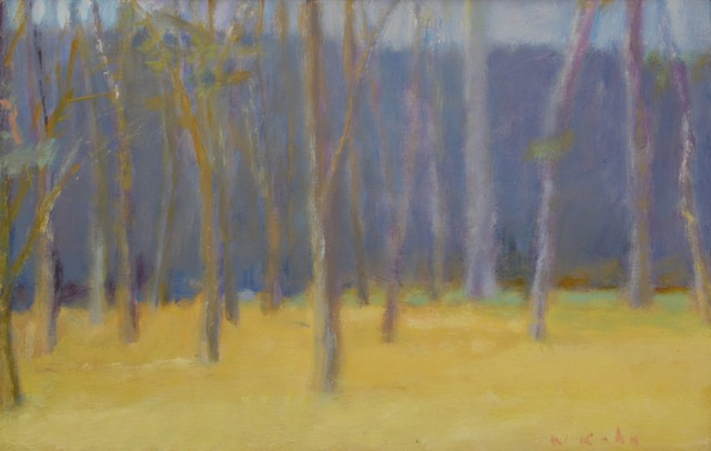 Wolf Kahn, 'Edge of Clearing', 1987, Painting, Oil on canvas, Private Collection, NY