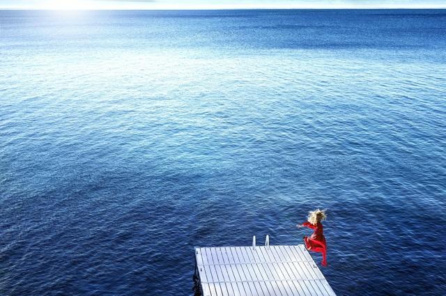 David Drebin, 'Jumping into the Blue', 2016, Contessa Gallery