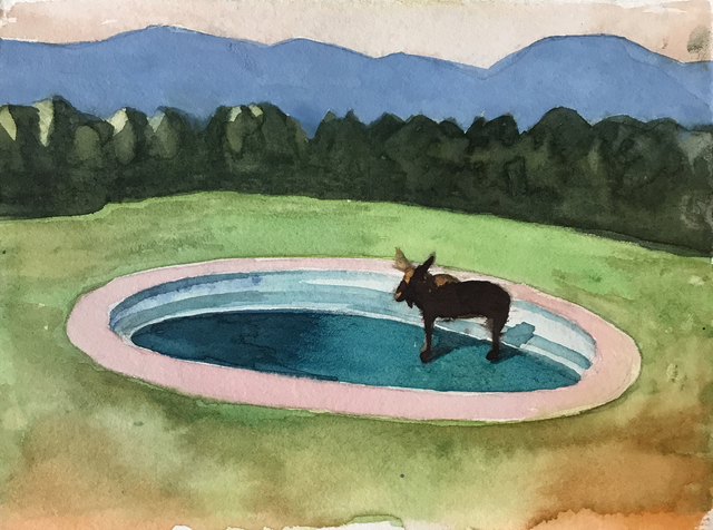 , 'Pool Party No 2.,' 2019, Visions West Contemporary