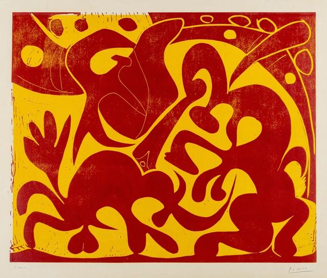 Pablo Picasso, 'La Pique (Bloch 908; Baer 1227A)', 1959, Forum Auctions