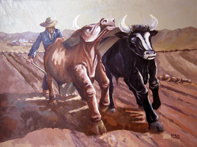 Emilio Torrez, 'Plowing', 2000, Casa Toscana