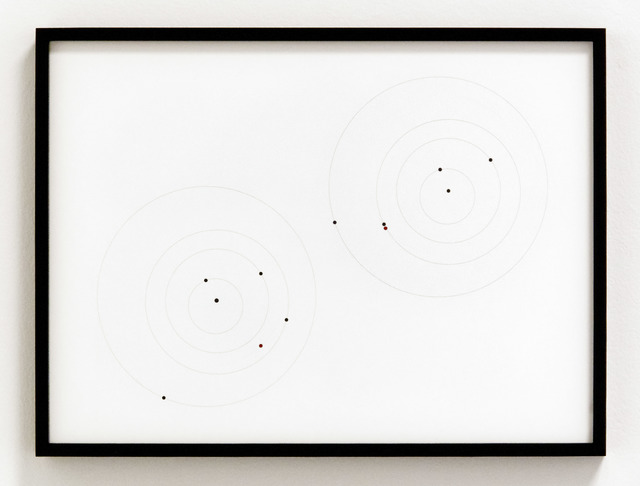 , 'Apophis Orbit Drawing (September 1, 2012, 1.609 AU / April 13, 2029, .0199 AU),' 2012, Christopher Grimes Gallery