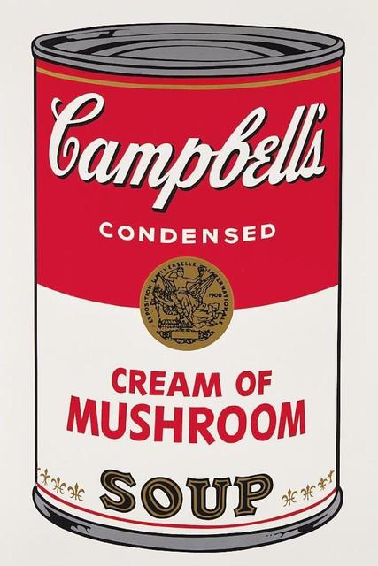 Andy Warhol, 'Campbells Soup Cream of Mushroom II.53', 1968, Print, Screenprint on paper, OSME Fine Art