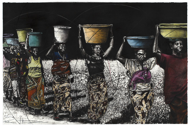 Phillemon Hlungwani, 'VAMANANA LANANENE VA AKA MINDYANGU YA VONA HAMBI SWI TIKA 2', 2019, Everard Read