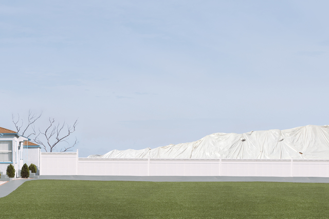 , 'Landscape With Lawn,' 2012, Galerie Richard