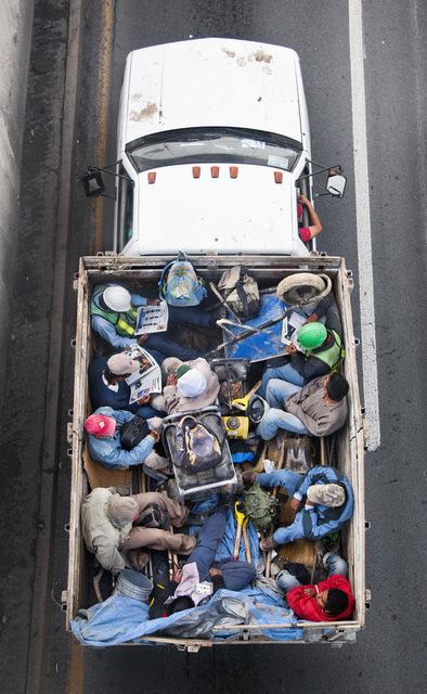Alejandro Cartagena, 'Carpooler #50', 2011, Circuit Gallery