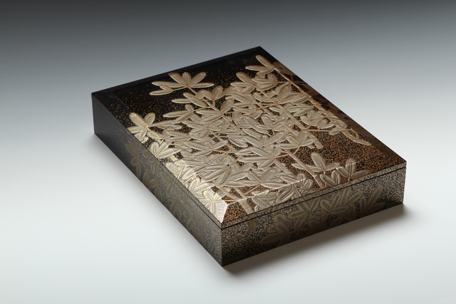 , 'Pine Seedlings New Year's Writing Box (T-3599),' Showa era (1926, 89), ca. 1930's, Erik Thomsen