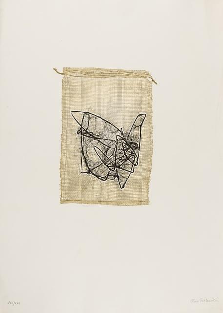 Claire Falkenstein, 'Struttura Grafica, Three Plates', 1963, Print, Three engravings, Forum Auctions