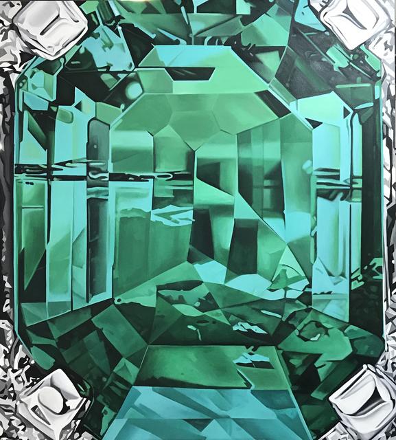 , 'Esmeralda I,' 2017, MAMAN Fine Art Gallery