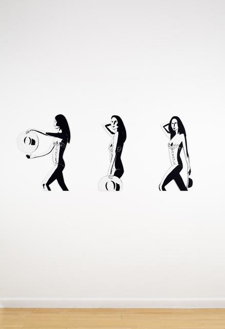 , 'Ariel (cutout),' 2016, Nikola Rukaj Gallery