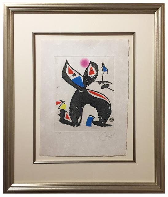 Joan Miró, 'Le Marteau Sans Maitre, Plate 10', 1976, Elliott Gallery