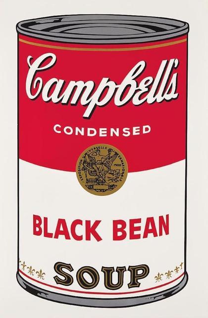 Andy Warhol, 'Campbells Soup Black Bean II.44', 1968, OSME Fine Art