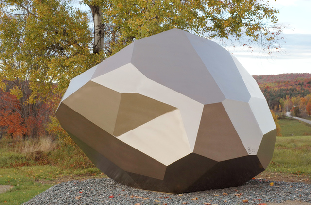 , 'Facetted Rock,' , West Branch Gallery
