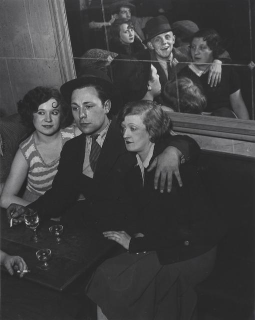 , 'Groupe Joyeux au bal musette des Quatre Saisons, rue de Lappe, Paris, France,' ca. 1932, Robert Klein Gallery