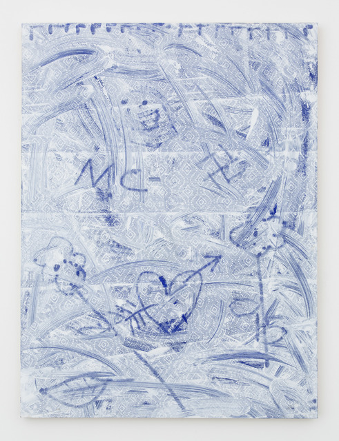 , 'And Tragic In Blue,' 2015, Nina Johnson