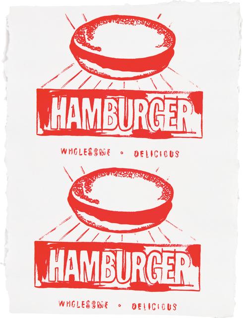 Andy Warhol, 'Hamburger (Double)', 1986, Phillips