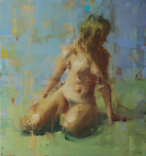 , 'Nude on Green,' 2010-2015, Gallery 1261