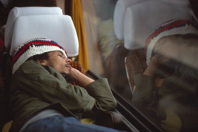 , 'Bob Marley and The Wailers on their tour bus during their Exodus Tour in Europe,' 1977, Anastasia Photo