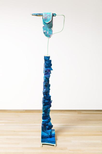 , 'not broken, just bent,' 2017, Carrie Secrist Gallery