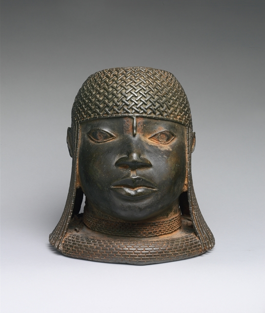 Unknown Edo (African), 'Head of an Oba', 16th century, The Metropolitan Museum of Art