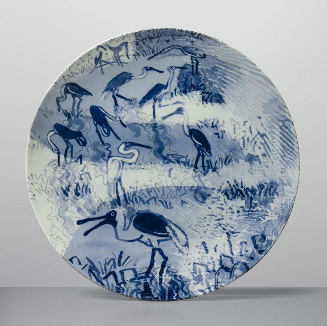 , 'Jesus Bird Plate,' 2017, Sladmore Contemporary