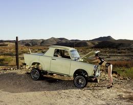Liz Cohen, 'Rio Grande Repair', 2012, Photography, 2012, Ballroom Marfa