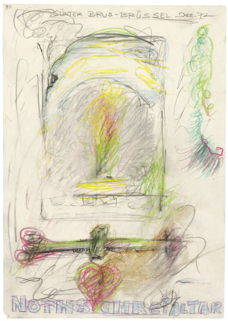 ", '""Nothschreialtar"" (Cry-For-Help-Altar),' 1972, Galerie Bei Der Albertina Zetter"