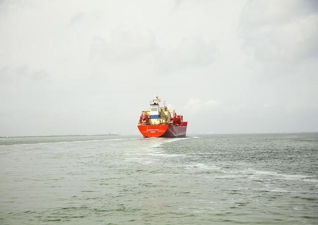 , 'Untitled (LPG Tanker, Navigator Europa, Liberia), Houston Ship Channel, Texas,' 2015, Yancey Richardson Gallery