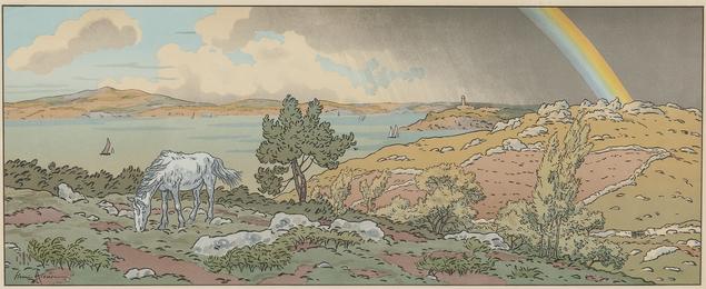 L'Arc-en-ciel, plate 3 from the suite La Féerie des heures