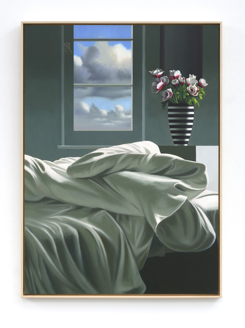 , 'Unmade Bed,' 2019, Leslie Sacks Gallery