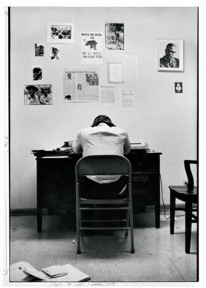 , 'Stokely Carmichael in SNCC Office,' 1967, Rhona Hoffman Gallery