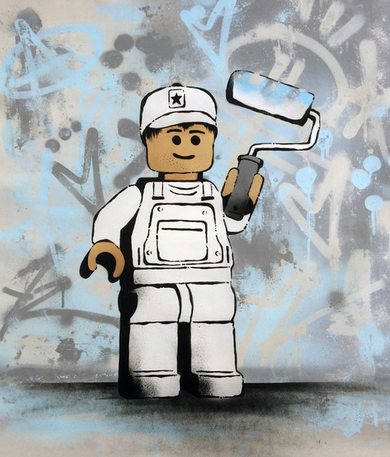 , 'Lego Painter ,' 2017, ZK Gallery