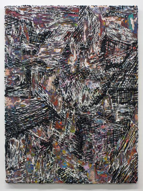 , 'Cutpainting 52,' 2014, Sultana