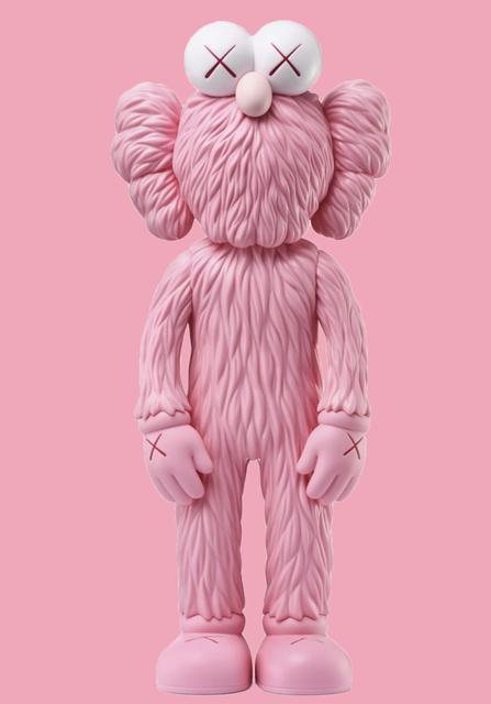KAWS, 'BFF pink', 2018, Gin Huang Gallery