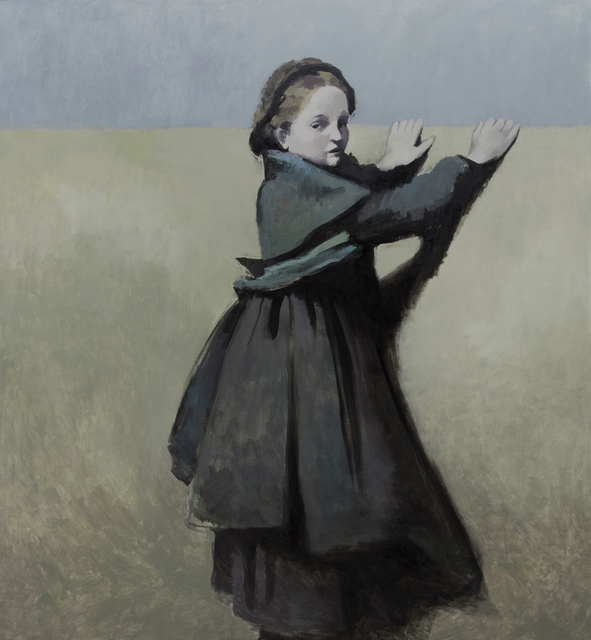, 'Girl from the Corot Painting 1,' 2013, Flowers