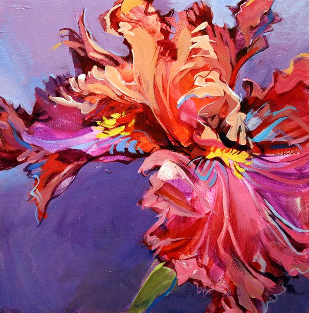 , 'Incandescent Iris,' , Wallace Galleries