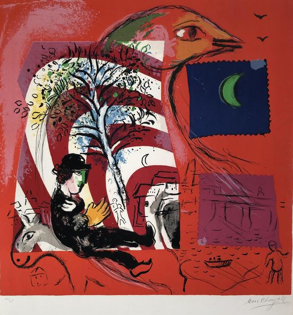 Marc Chagall, 'l'Arc en Ciel (The Rainbow)', 1969, Denis Bloch Fine Art