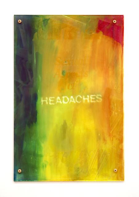, 'Headaches 3,' 2017, Halsey McKay Gallery