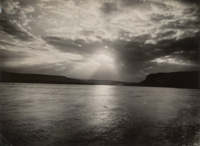 August Sander, 'Der Rhein bei Zing', Photography, Gelatin silver, printed later, Heritage Auctions