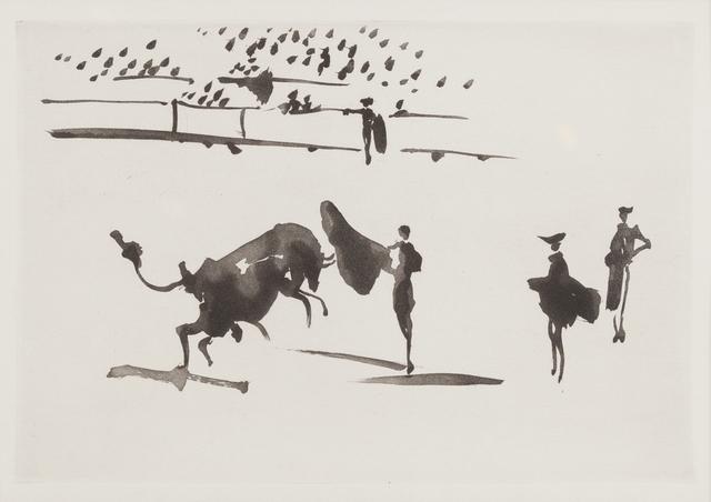 , 'Suerte de muleta,' 1957, Childs Gallery