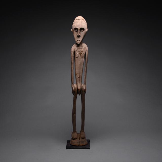 Papua New Guinea Tribal Art, 'Sepik River Standing Male Figure', 20th century A.D., Barakat Gallery