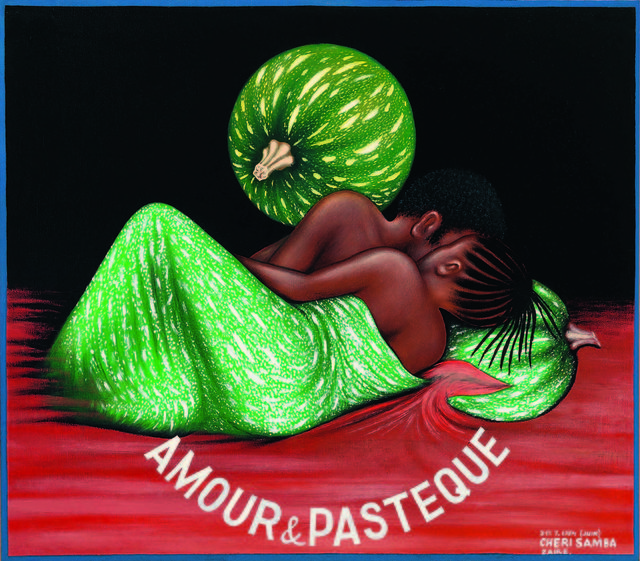 , 'Amour & Pastèque (Love & Watermelon),' 1984, Fondation Cartier pour l'art contemporain