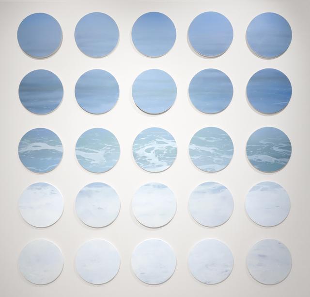 , 'Ocean Series,' 2015, Gallery Henoch