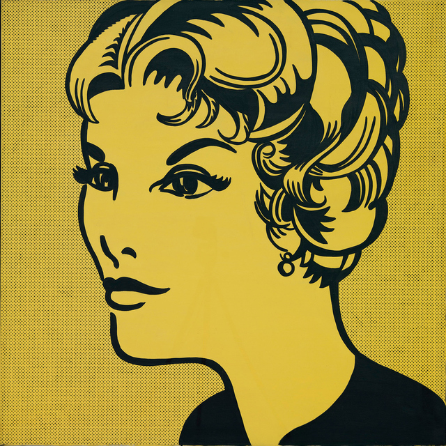 , 'Head: Yellow and Black,' 1962, Gagosian
